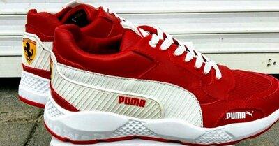 Продано: Кроссовки Кожаные Мужские Puma