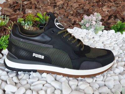 Кроссовки Кожаные Мужские Puma