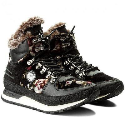 Продано: Кожаные зимние ботинки сникерсы bugatti р. 42- 27см