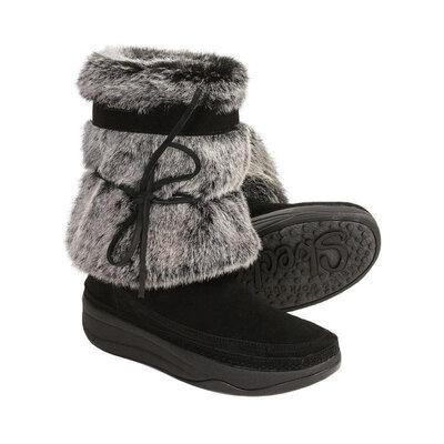 Продано: Skechers замшевые сапоги р. 36 - 23см
