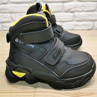 Деми ботинки Clibee P649by черный размеры 26-31