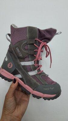 Продано: Зимние ботинки Superfit с мембраной Gore-Tex 32р. по стельке 21 см.