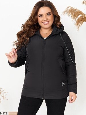 Тёплая куртка осень большой размер