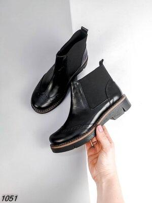 Женские ботинки. Натуральная кожа.