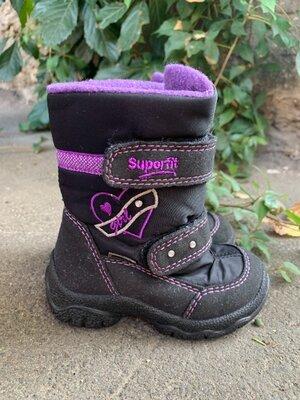 Зимние ботинки Superfit Gore-tex 21 р