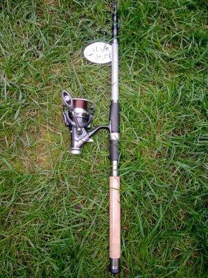 Продано: Спінінг для ловлі коропа і не тільки в зборі, все готово до риболовлі. 270 см, бейтранер, 0.35мм