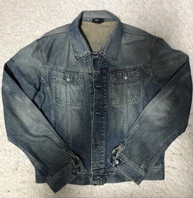Джинсовый пиджак diesel. xl. оригинал.