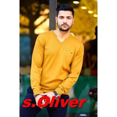 Продано: s. Oliver Шикарный брендовый джемпер горчичного цвета - L - XL