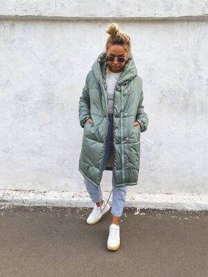 Зимняя куртка «зефирка»