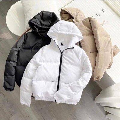 Куртка Женская Осень-Весна Бежевый Черный Белый