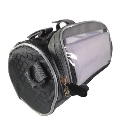 Велосумка сумка на руль велосипеда с отделением под смартфон