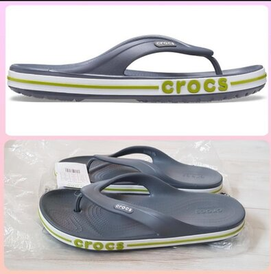 Продано: Crocs bayaband flip m9 w11 мужские вьетнамки кроксы оригинал сша