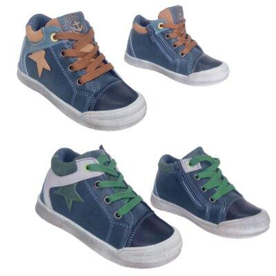 Демисезонные теплые кеды, детские ботинки мальчикам с защитой носка, р-ры 26-31