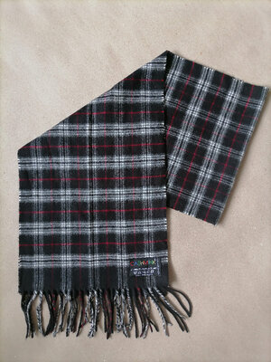 Cashmink теплый мжской шарф