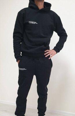 Мужской костюм на флисе 2 цвета 48-52р повседневный спортивный тёплый
