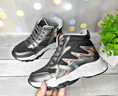 Продано: Деми ботинки на девочку с комбинированной кожи р-р 32-37 фирма weestep сказка