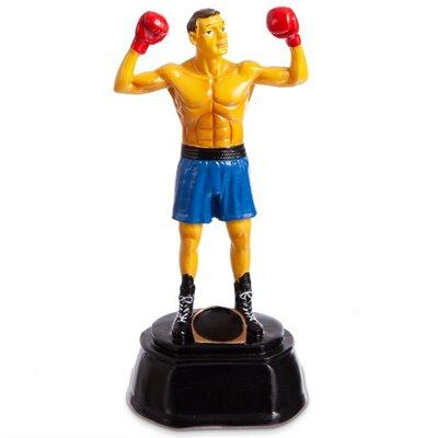 Награда спортивная Бокс 4241-B8 статуэтка наградная боксер 10 x 9 x 21 см
