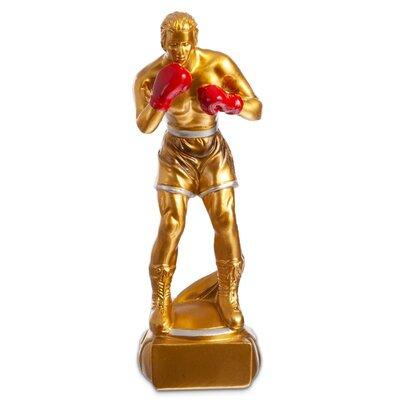 Награда спортивная Бокс 4588-B5 статуэтка наградная боксер 7 x 6 x 20см