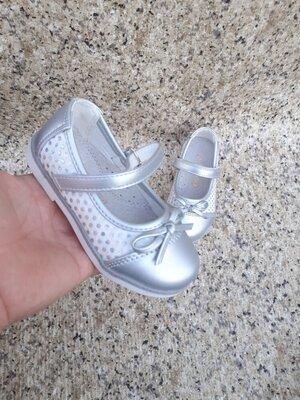 Нарядные Туфельки Серебро