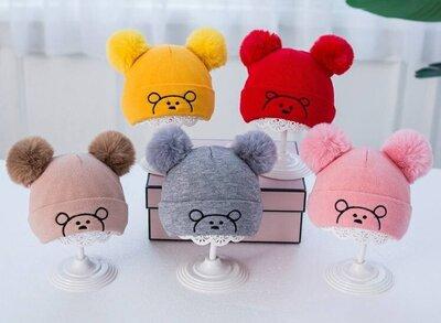 Продано: Стильная шапка для малышей