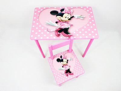 Детский столик и стульчик МИННИ стол-парта стул до 7-8 лет варианты