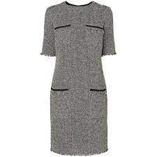 Стильное твидовое платье дорогой бренд l.k. bennett darya