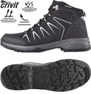 Акция CRIVIТ Германия -43-44-45- зимние ботинки термо трекинговые waterproof оригинал