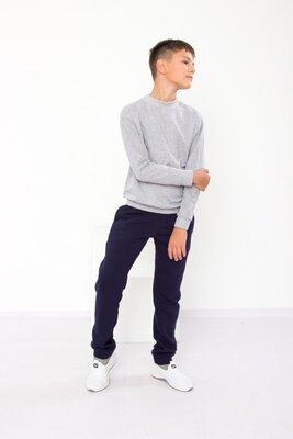 Теплые брюки для мальчика подростковые 6232-025