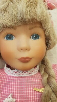 Кукла виниловая М ST Steiff Kathe Kruse