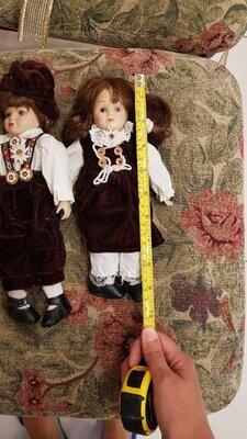 Пара кукол, прекрасная парочка, фарфоровая, керамическая кукла Германия