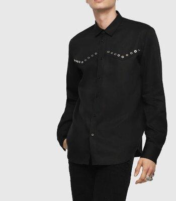 Мужская рубашка S-Hiroki Camicia итальянского бренда Diesel Оригинал Италия