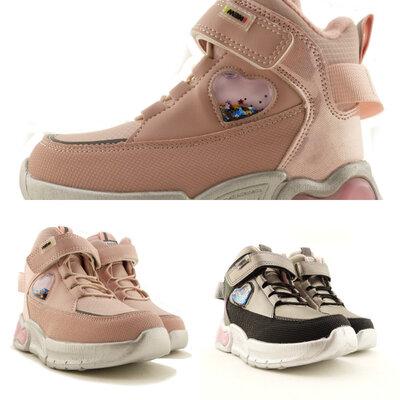 Демисезонные ботинки clibee для девочки 27-32р 509503,509504,19