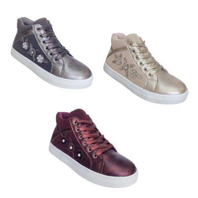 Детские демисезонные ботинки, теплые осенние ботинки девочкам, р-ры 31-36