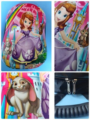 Детский Пластиковый Рюкзак Принцесса София