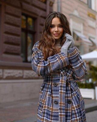 Демисезонное пальто Модерн