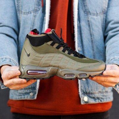 Мужские Кроссовки Nike sneakerboot 95 скидка sale | чоловічі кросівки найк зима знижка