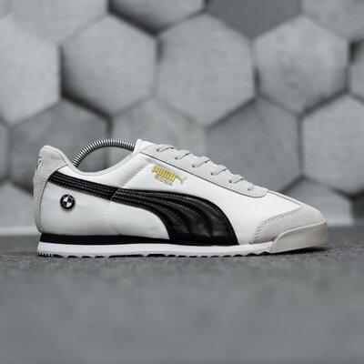 Мужские кроссовки Puma Roma bmw скидка sale | чоловічі кросівки пума знижка