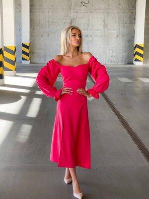 Платье 2827 Размер 42-46,48-52 По спинке корсетная шнуровка за счёт чего ширина регулируется. Ткань