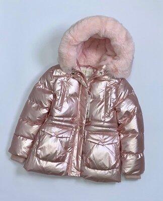 Новинка Зима 2022, зимняя тёплая куртка для девочки