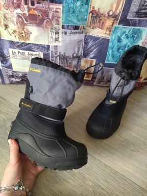 Детские сноубутсы Columbia toddler powderbug plus ii waterproof winter boot, 21 см по стельке,