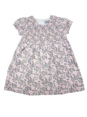 Стильное пудровое платье в цветочки на девочек, Primark