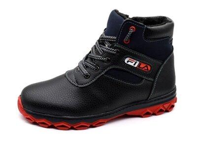 Зимові черевики чоловічі прошиті і утеплені СБ-17к