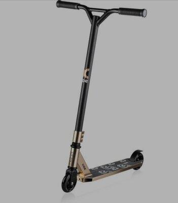 Продано: Самокат для трюков XRIDE ST500 GOLD