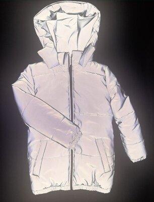 Куртка рефлективная светоотражающая, холодная осень