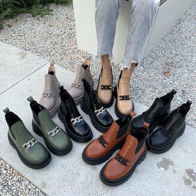 Продано: Ботинки Деми, натуральная кожа