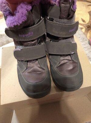 Термо ботинки на девочку 29 размер