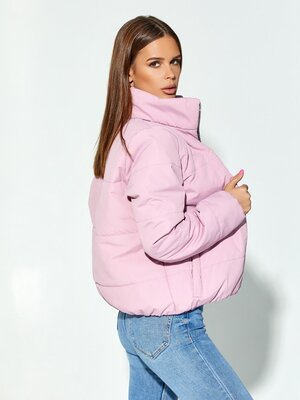 Стеганая куртка на молнии, размера S, M, L, XL, жіноча куртка осінь