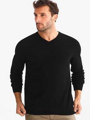 Пуловер, светр чорний C&A розмір S