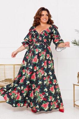 Продано: Длинное платье 48-52,54-58,60-64