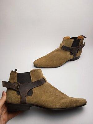 Продано: Стильные ботинки челси Asos Асос с тройной пряжкой 42р.